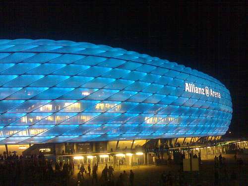 allianz arena capacity