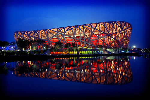 Beijing national stadium pekin for The bird s nest stadium