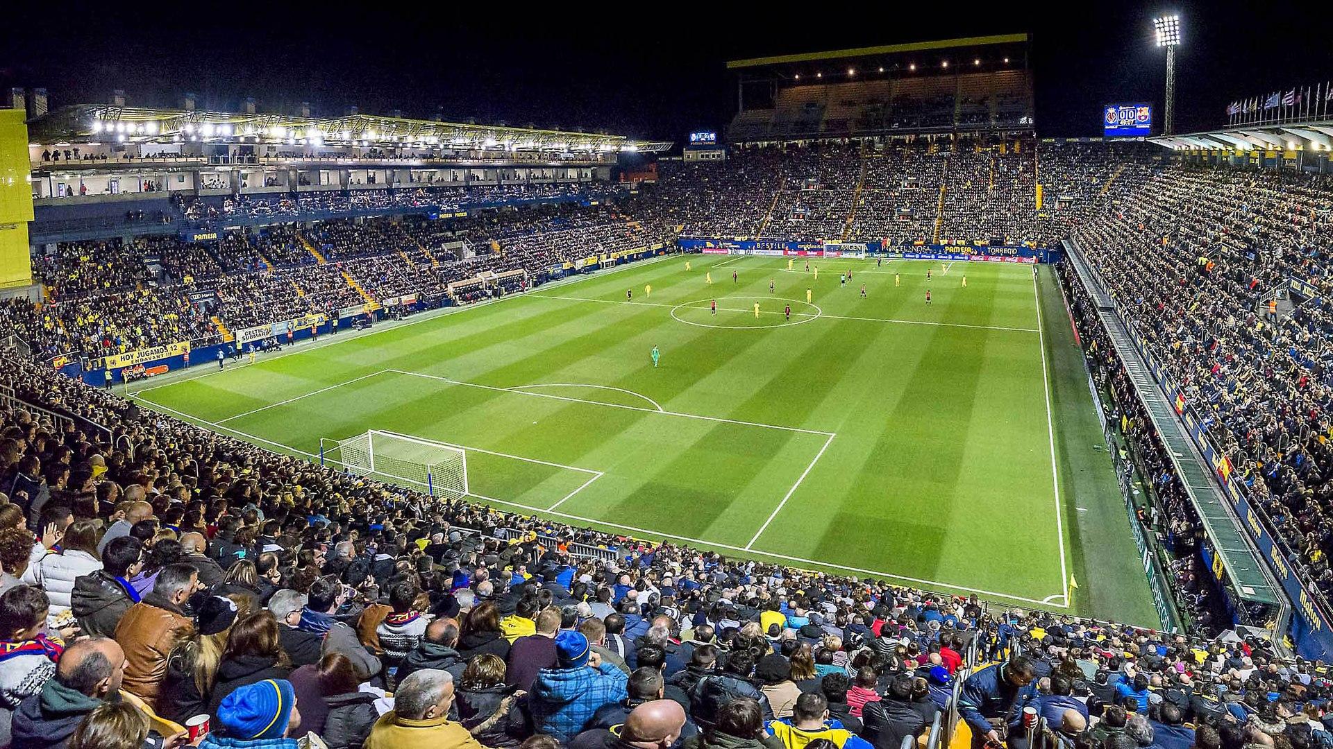 Villarreal stade du de Madrigal : El Estadio Photos