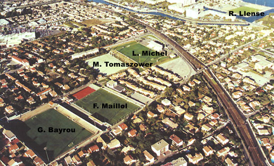 Photos du stade de sete stade louis michel for Garage sete route de montpellier