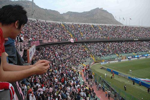 Campionato di calcio  Serie B Stadio-barbera-palermo