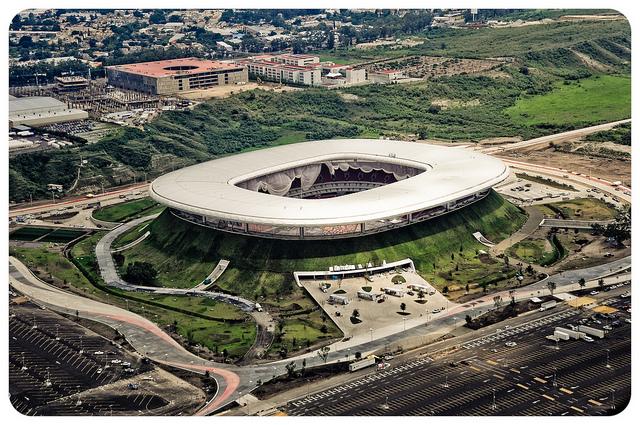 Estadio Omnilife Guadalajara Aerial Estadio Omnilife